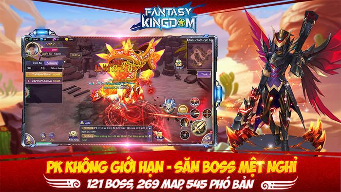 Fantasy KingDom M đưa ra 4 lớp nhân vật với mỗi người một kiểu biến hình khác biệt 1
