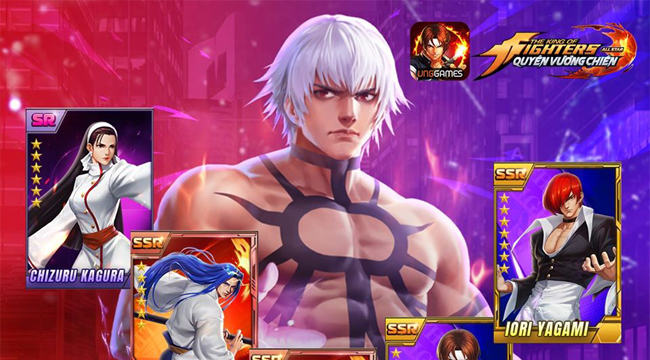 Tự do phát triển đội hình đấu sĩ mạnh nhất của bạn trong KOF AllStar VNG – Quyền Vương Chiến