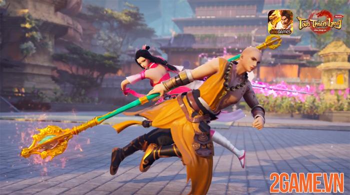 Mãn nhãn với cảnh cao tăng Thiếu Lâm xuất chưởng trong trailer Tân Thiên Long Mobile VNG 0