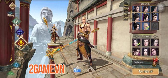 Mãn nhãn với cảnh cao tăng Thiếu Lâm xuất chưởng trong trailer Tân Thiên Long Mobile VNG 1