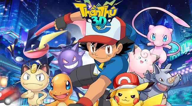 Game đấu pet chuẩn pokemon Thần Thú 3D Mobile công bố lộ trình ra mắt
