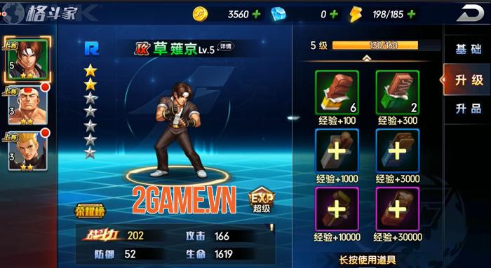 Tự do phát triển đội hình đấu sĩ mạnh nhất của bạn trong KOF AllStar VNG - Quyền Vương Chiến 0