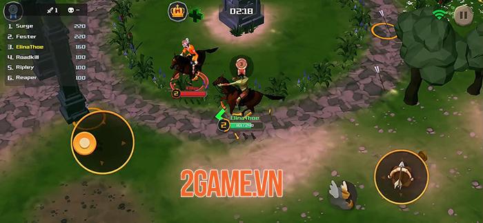 Rider.io - Game cưỡi ngựa bắn cung loạn đấu vô cùng hấp dẫn!!! 0