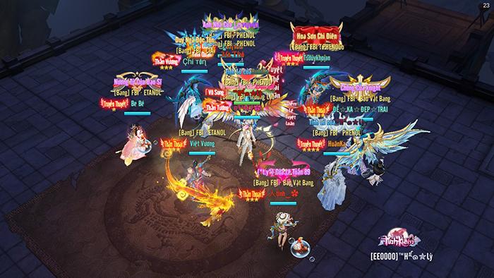Tình Kiếm 3D tổ chức sự kiện Tứ Hải Giai Huynh Đệ ngay trên web Playfun 2