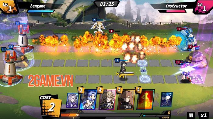 Resurrection Girl - Game chiến thuật thời gian thực toàn gái xinh anime 0