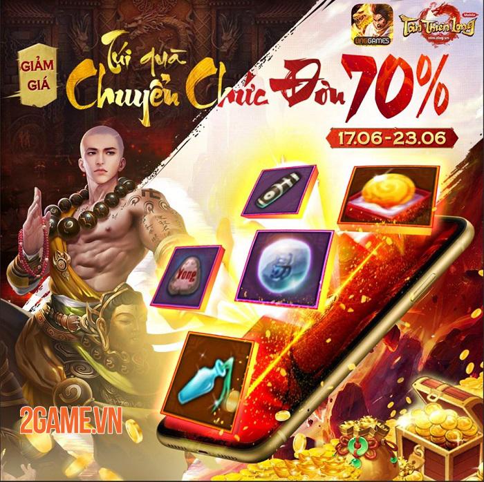 Tân Thiên Long Mobile chiêu đãi người chơi nhân dịp ra mắt Thiền Võ Thiếu Lâm thành công 2