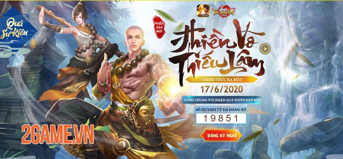 Tân Thiên Long Mobile chiêu đãi người chơi nhân dịp ra mắt Thiền Võ Thiếu Lâm thành công 1
