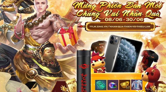 Tân Thiên Long Mobile chiêu đãi người chơi nhân dịp ra mắt Thiền Võ Thiếu Lâm thành công