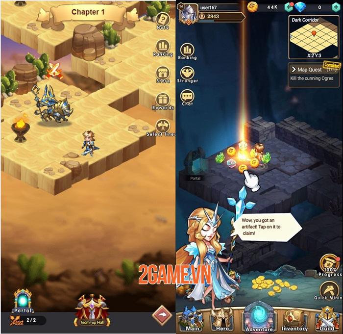 Brave Dungeon - Game nhập vai giả tưởng phong cách roguelite rảnh tay thú vị 0