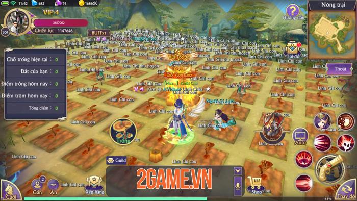 Chơi thử Fantasy KingDom M - Thánh Địa Huyền Bí trước giờ G 6