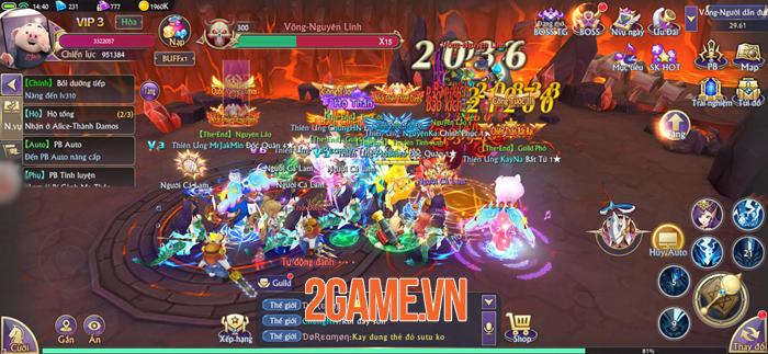 Chơi thử Fantasy KingDom M - Thánh Địa Huyền Bí trước giờ G 3