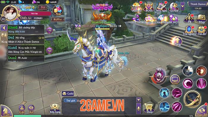 Chơi thử Fantasy KingDom M - Thánh Địa Huyền Bí trước giờ G 0