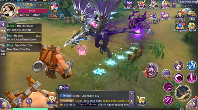 Chơi thử Fantasy KingDom M – Thánh Địa Huyền Bí trước giờ G