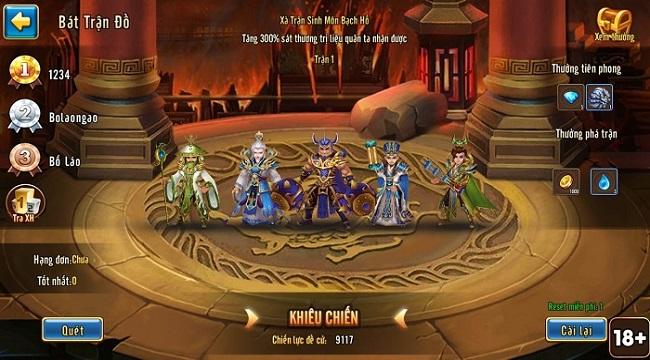 Cao thủ ANghiaF5NT tuyên bố thách đấu tất cả game thủ Toàn Dân Tam Quốc
