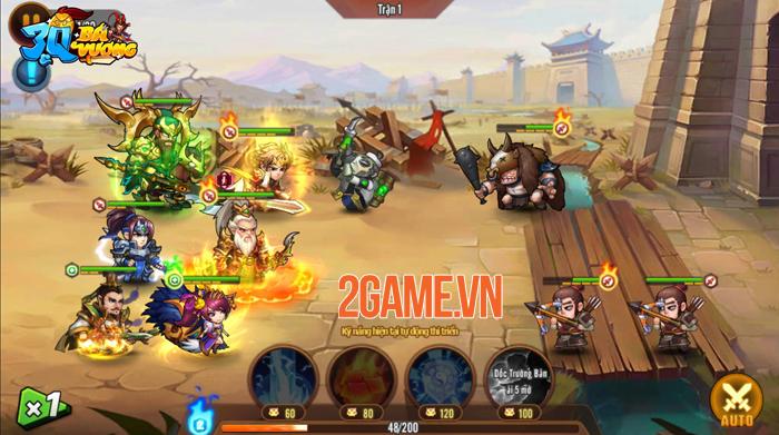 3Q Bá Vương - Game đấu tướng 6vs6 hài hước của SohaGame sắp ra mắt 1