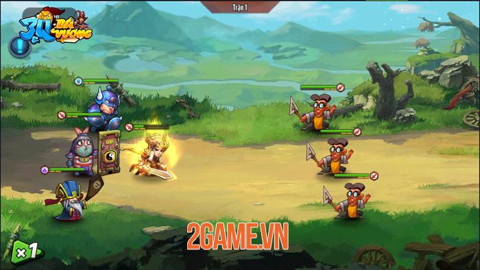 3Q Bá Vương - Game đấu tướng 6vs6 hài hước của SohaGame sắp ra mắt 0