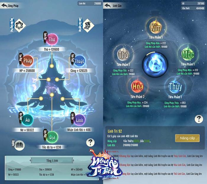 Game ngồi thiền đắc đạo Mộng Ảo Tu Tiên Mobile về Việt Nam 2