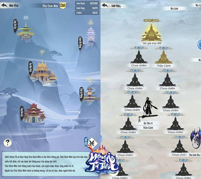Game ngồi thiền đắc đạo Mộng Ảo Tu Tiên Mobile về Việt Nam 3