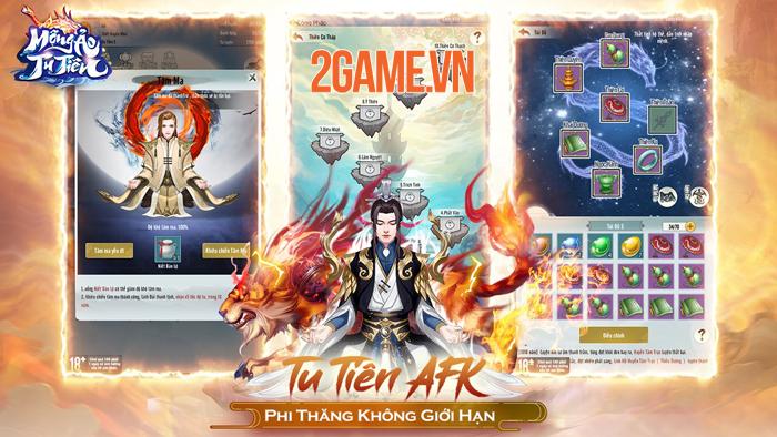 Game ngồi thiền đắc đạo Mộng Ảo Tu Tiên Mobile về Việt Nam 0