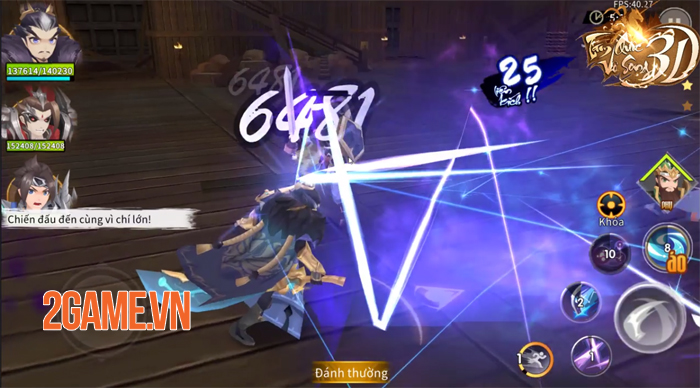 Game hành động Tam Quốc Vô Song 3D Mobile về Việt Nam 1