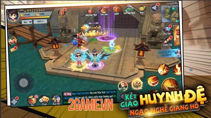 Game chibi Kiếm Khách Ca Ca Mobile mở đăng kí trước 4