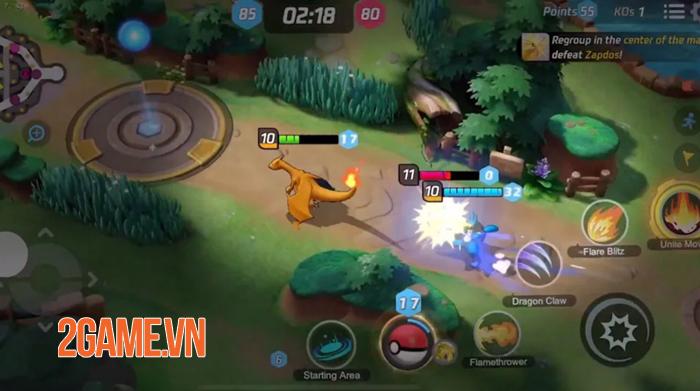 Dự án MOBA Pokemon Unite được đỡ đầu bởi những ông lớn làng game 0