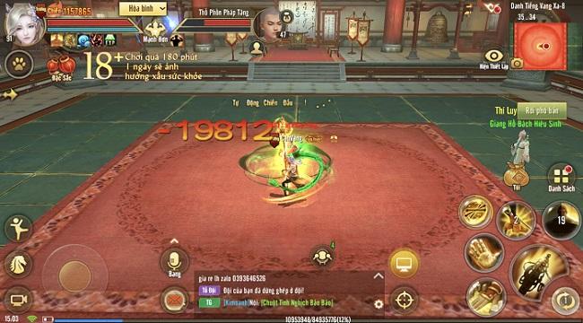 Thiếu Lâm trong Tân Thiên Long Mobile có xứng danh bậc thầy võ học?