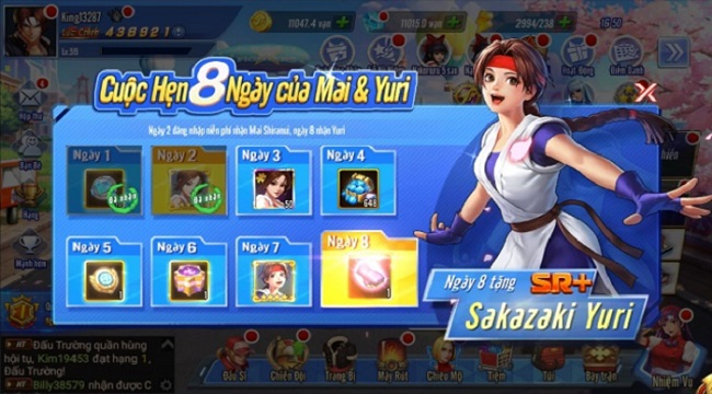 KOF AllStar VNG – Quyền Vương Chiến mở tới 20 máy chủ trong ngày ra mắt