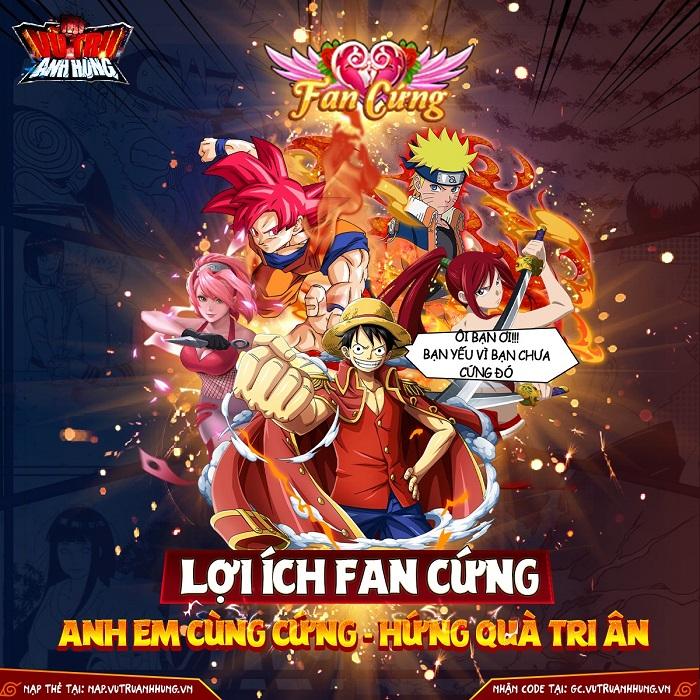Vũ Trụ Anh Hùng tổ chức giải đấu bang hội