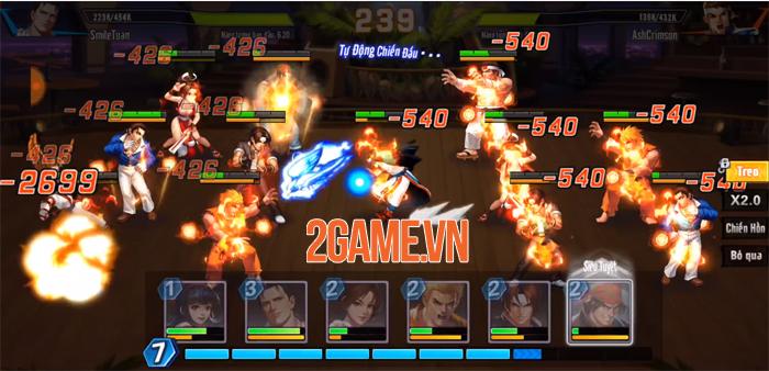 Phối chiêu đọ sức chưa bao giờ là việc dễ dàng trong KOF AllStar VNG - Quyền Vương Chiến 2