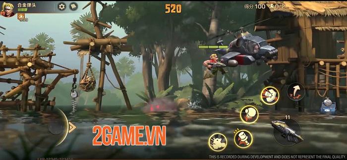 SNK hợp tác cùng Tencent sắp ra mắt game mobile Metal Slug Code: J 2