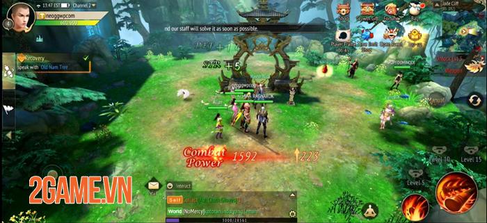 Talisman Online M - Game MMORPG 3D mở ra thế giới giả tưởng rộng lớn 1