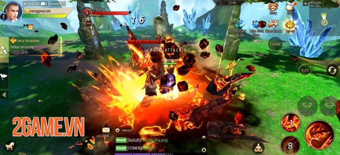 Talisman Online M - Game MMORPG 3D mở ra thế giới giả tưởng rộng lớn 0
