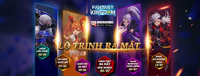 Tặng 789 giftcode game Fantasy KingDom M 1