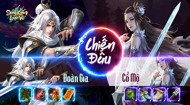 Tặng 292 giftcode game Song Kiếm Loạn Vũ Mobile