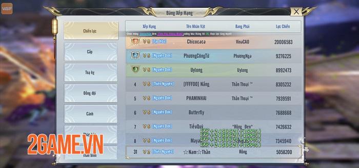 Game thủ Song Kiếm Loạn Vũ chăm chỉ cày cuốc đua top trong ngày đầu ra mắt 1