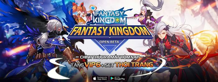 Tặng quá nhiều Kim Cương và free VIP nên lượng người đổ về Fantasy KingDom M rất đông! 0