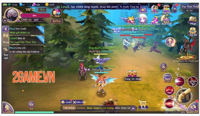 Tặng quá nhiều Kim Cương và free VIP nên lượng người đổ về Fantasy KingDom M rất đông! 3