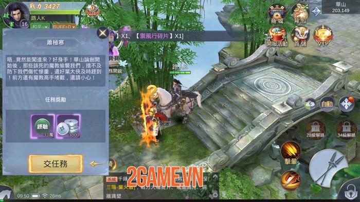 Game kiếm hiệp Vô Song Giang Hồ Mobile về Việt Nam 4