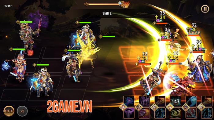 Fantasy League - Game nhập vai hành động theo lượt đồ họa 2D chất lượng miễn chê 0