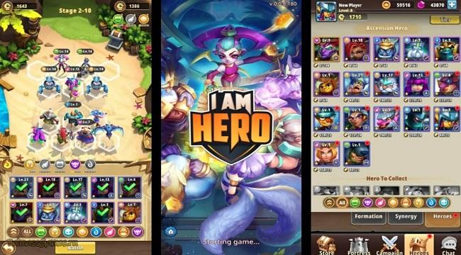 I Am Hero – Sự kết hợp độc đáo giữa dòng game Idle và Auto Chess