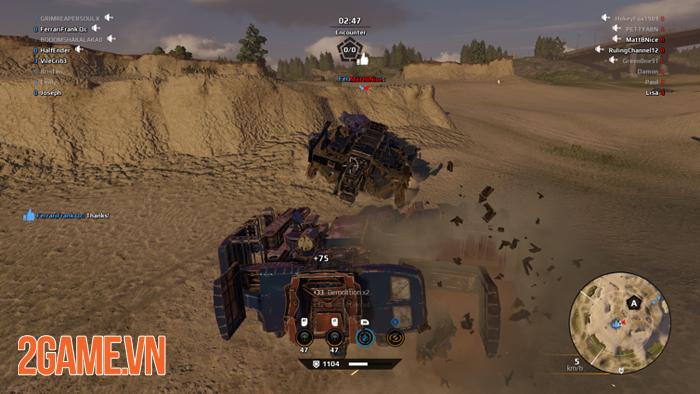 Trải nghiệm nhanh Crossout Online vừa được Asiasoft phát hành tại khu vực SEA 3