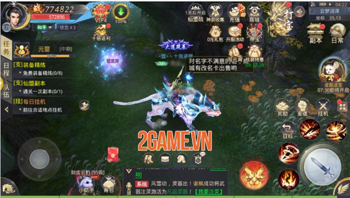 Game tiên hiệp Trảm Tiên Quyết Mobile cập bến Việt Nam 2