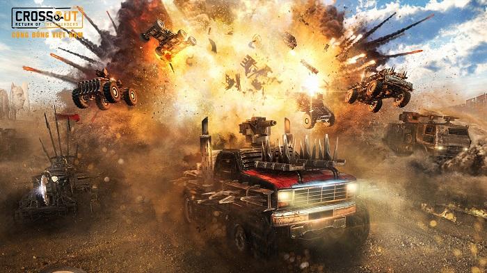 Bước vào thế giới bom tấn Max Điên thông qua Crossout Online 1