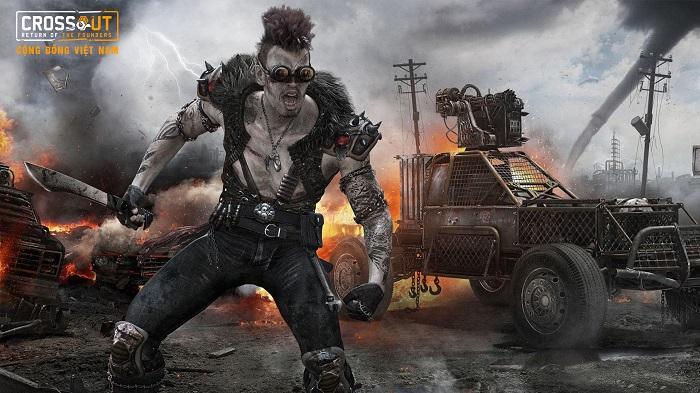 Bước vào thế giới bom tấn Max Điên thông qua Crossout Online 9