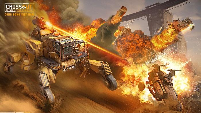Bước vào thế giới bom tấn Max Điên thông qua Crossout Online 10