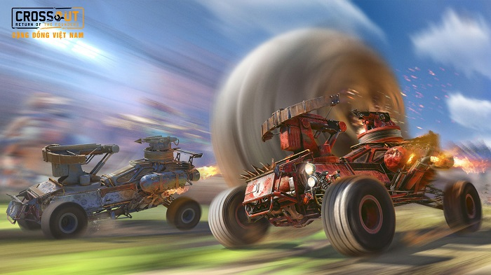 Bước vào thế giới bom tấn Max Điên thông qua Crossout Online 3