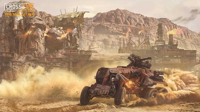 Bước vào thế giới bom tấn Max Điên thông qua Crossout Online 4