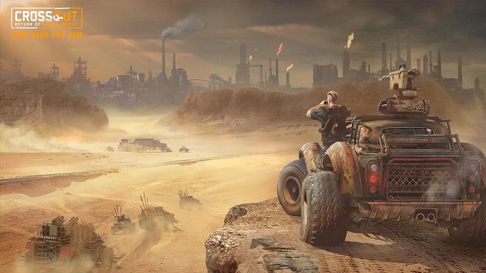 Bước vào thế giới bom tấn Max Điên thông qua Crossout Online 5