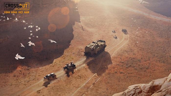 Bước vào thế giới bom tấn Max Điên thông qua Crossout Online 6